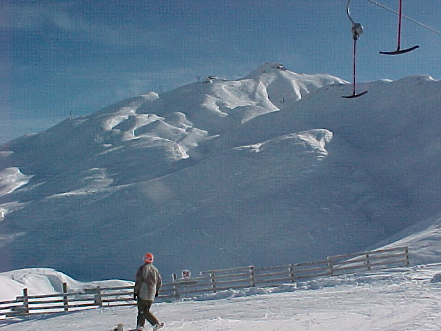 Coronet Peak, a skiing highlight